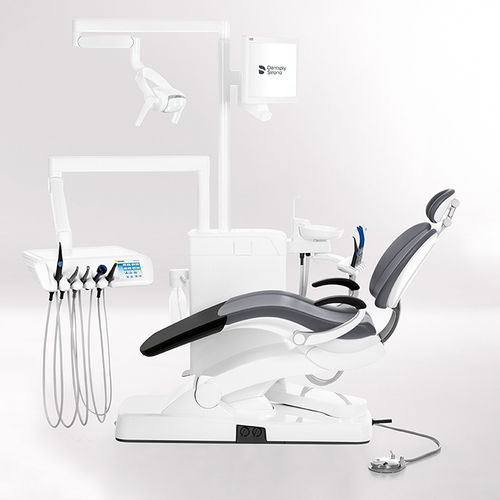 Ambidextrous dental unit / with delivery system / with LED light / compact INTEGO Ambidextre Dentsply Sirona