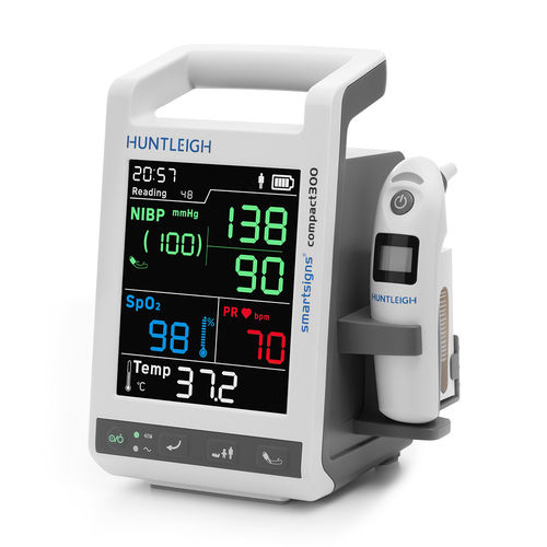 clinical patient monitor / heart rate / TEMP / blood pressure