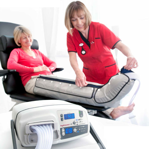 leg pressure therapy unit / arm pressure therapy unit / tabletop / 12 independent cells