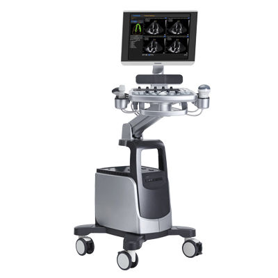 on-platform, compact ultrasound system / for multipurpose ultrasound imaging / 3D/4D