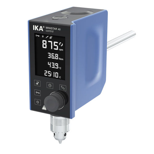 rotary laboratory shaker / digital / overhead / compact