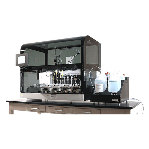 laboratory sample preparation system / fully automated / staining / bench-top