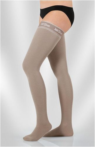 Compression stockings / women's Juzo® Expert Strong Silver Juzo