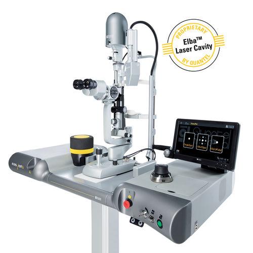 Retinal photocoagulation laser / solid-state / tabletop EASYRET Quantel Medical