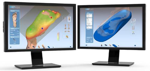 Orthopedic insole design software / CAD / CAM OrthoModel Delcam Plc