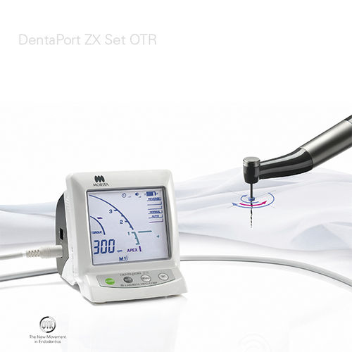 Endodontic micromotor control unit / electric / bench-top / complete set DentaPort ZX Set OTR Morita