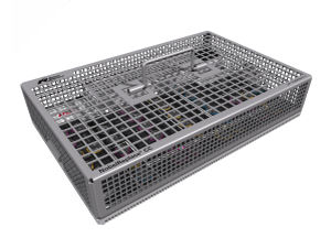 dental instrument sterilization tray