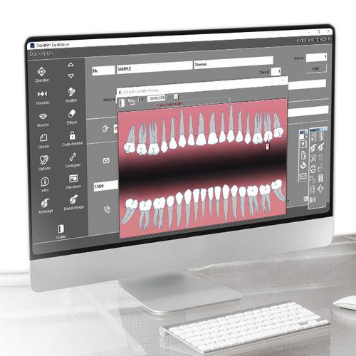 import software / control / diagnostic / for dental imaging