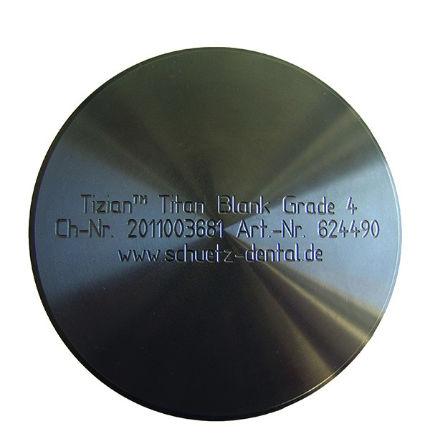titanium dental material / for dental inlays / for dental onlays / for dental crowns