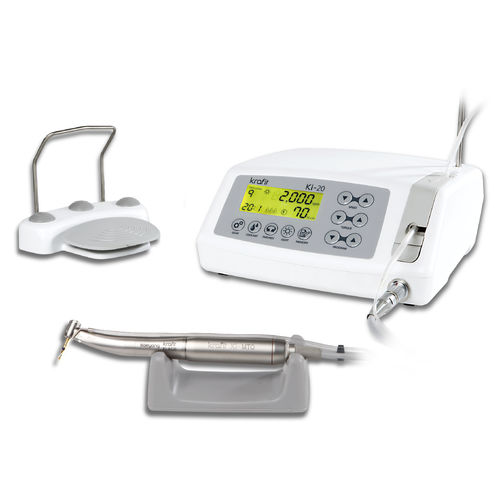 maxillofacial surgery micromotor control unit / for dental implantology / electric / bench-top