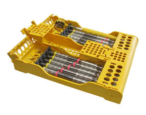 dental instrument sterilization cassette / perforated