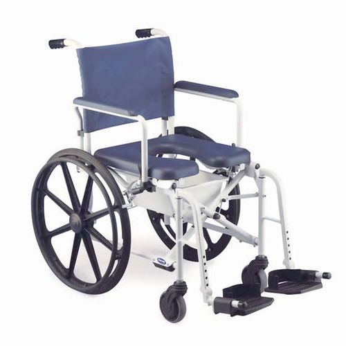 passive wheelchair / shower / folding / commode