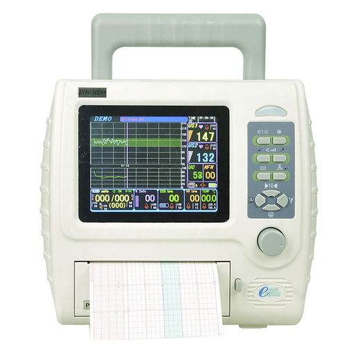 Fetal monitor with SpO2 monitor / twin / with maternal monitoring 0 - 99% SpO2 | BFM-700M Shenzhen Bestman Instrument