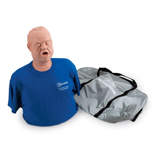 Heimlich maneuver training manikin / bariatric / torso