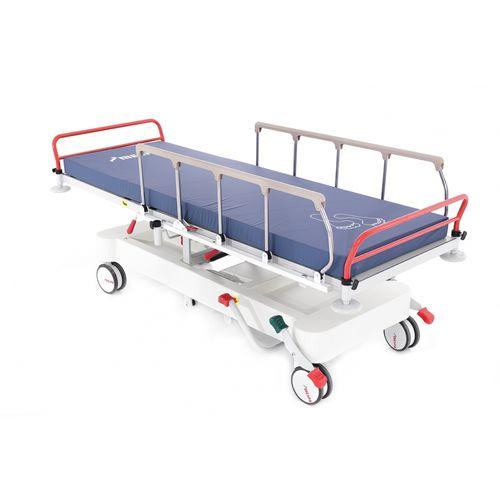 Transport stretcher trolley / emergency / hydraulic / Trendelenburg MS 1210 Mespa