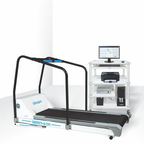 Cardiac stress test equipment / trolley-mounted / with treadmill GEMINI  Allengers Medical Systems