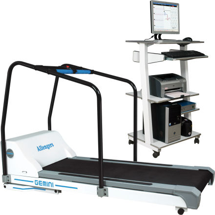 Cardiac stress test equipment / trolley-mounted / with treadmill GEMINI  Allengers Medical Systems Limited