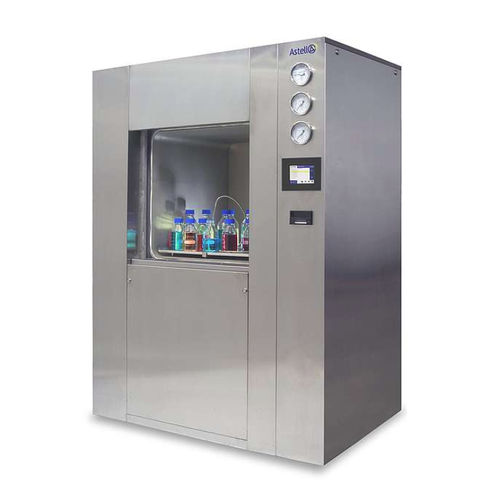 medical autoclave / laboratory / floor-standing / front-loading