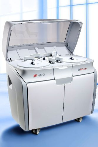automatic biochemistry analyzer / human / floor-standing / with immunoturbidimetry dosing