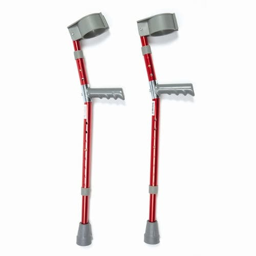 forearm crutch / height-adjustable / pediatric