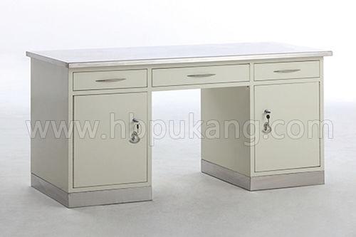 rectangular desk / with drawer / workstation