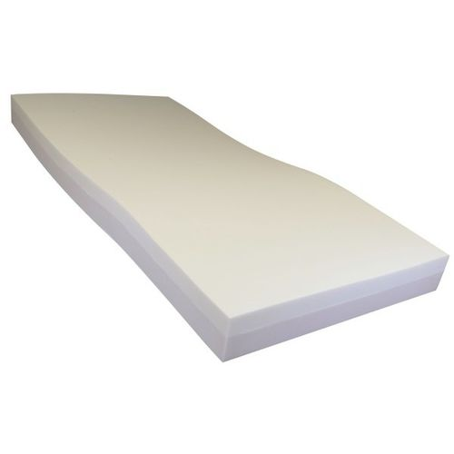 hospital bed mattress / memory / foam / fire-resistant