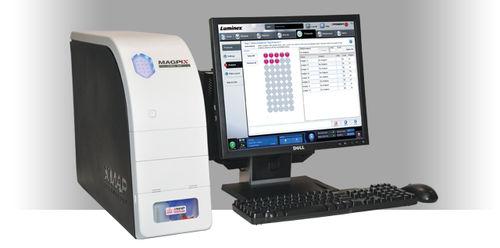 multiplexing immunoassay analyzer / automatic / compact / human