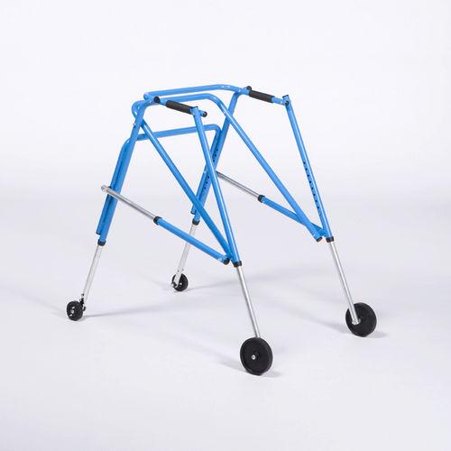 4-caster rollator / folding / height-adjustable