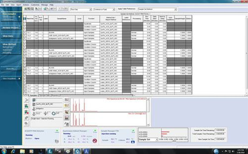 training software / validation / data management / acquisition