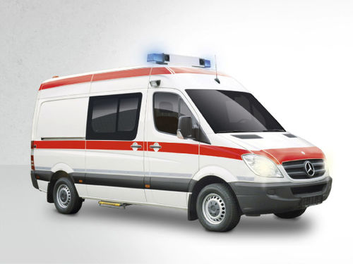 van ambulance / type B / 4-stretcher