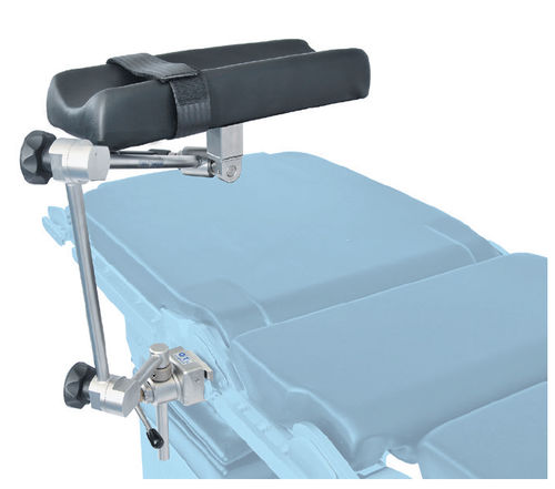 armrest / operating table / with strap