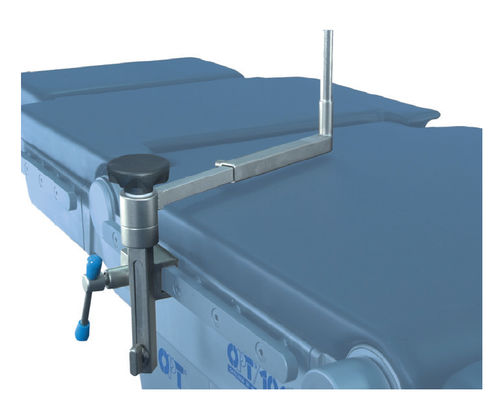 Lateral support / operating table / stainless steel / height-adjustable 9908019 OPT SurgiSystems