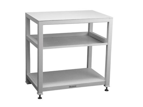 work table / rectangular / stainless steel