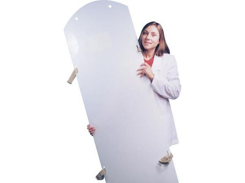 plastic backboard stretcher / X-ray transparent