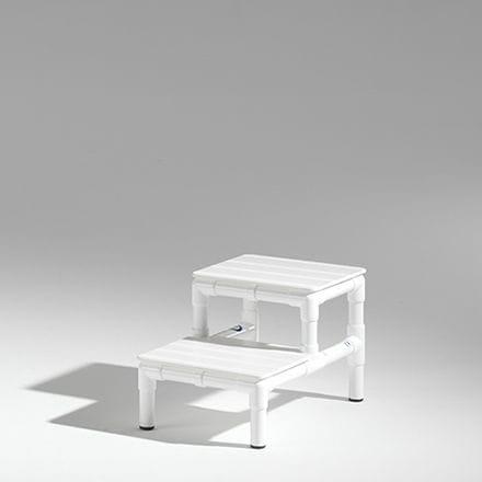 2-step step stool / non-slip / non-magnetic