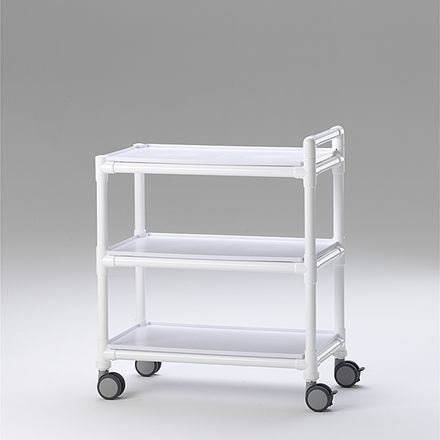 transport trolley / multi-function / for general purpose / 3-tray