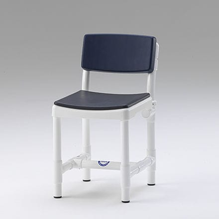 shower chair / with backrest