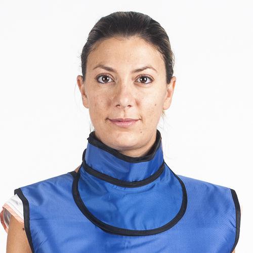 X-ray protective thyroid collar