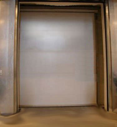 roll-up door / sliding / hospital / laboratory