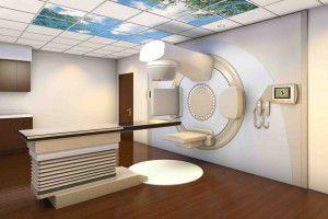 radiology room / X-ray shielded