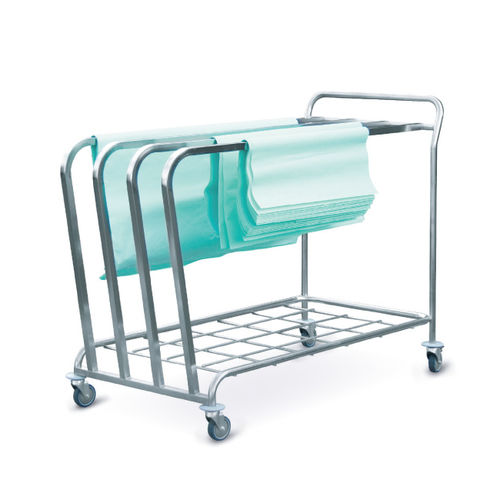 storage trolley / sterilization / medical records
