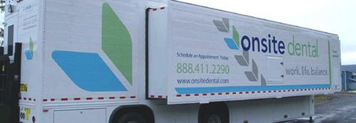 denta care mobile health vehicle / truck