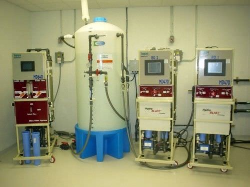 Hemodialysis water treatment plant / microfiltration / reverse osmosis Isopure