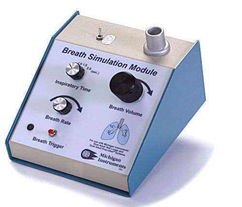 breathing simulator / monitor