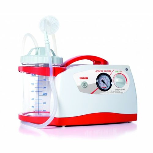 battery-powered mucus suction pump / electric / portable