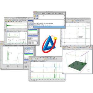 import software / treatment / for NMR spectrometry