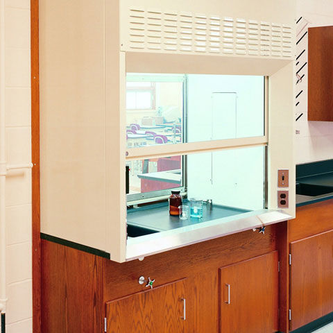 laboratory fume hood / chemical / containment / bench-top