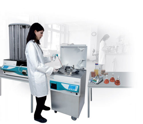 Automatic media preparation system / stirring / heating / sterilization MEDIACLAVE 10, MEDIACLAVE 30 Integra Biosciences AG