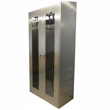 endoscope cabinet / hospital / 2-door / with HEPA filter