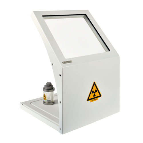 X-ray radiation shielding screen / table / with window